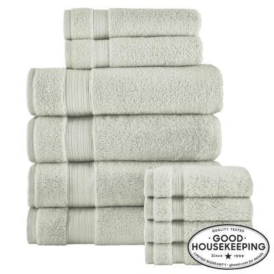 Egyptian Cotton 10-Piece Towel Set