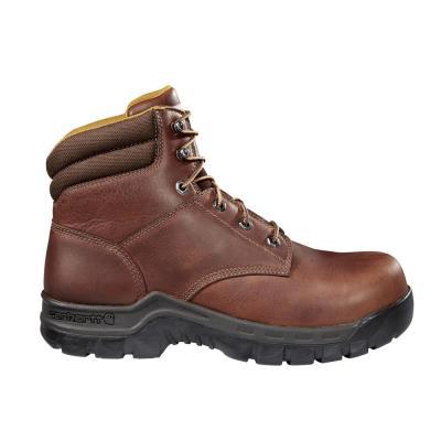 Men's Rugged Flex 6 inch Composite Toe Brown Work Boots