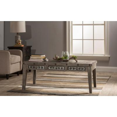 Hillsdale Furniture Bolt Dark Gray Coffee Table