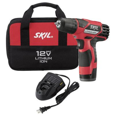 Skil 12-Volt Lithium-Ion 2-Speed Drill/Driver Kit
