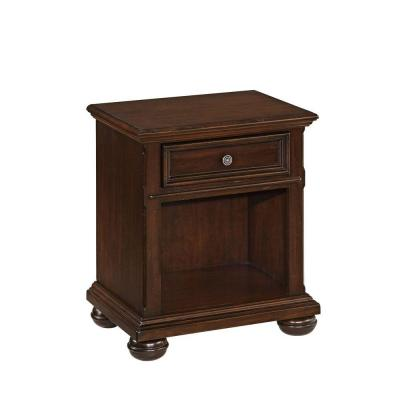 Colonial Classic 1-Drawer Nightstand in Dark Cherry