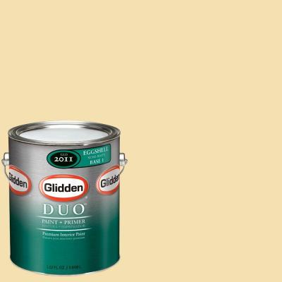 Glidden DUO 1-gal. #GLY20 Natural Straw Eggshell Interior Paint with Primer
