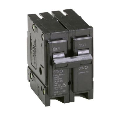 Type BR, BQ Quadplex Circuit Breaker, one 40Amp 2 pole and two 20Amp 1 poles Product Photo