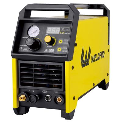 40 Amp Inverter Contact Pilot Arc Plasma Cutter with Dual Voltage