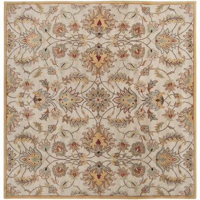 John Gold 9 ft. 9 in. Square Area Rug