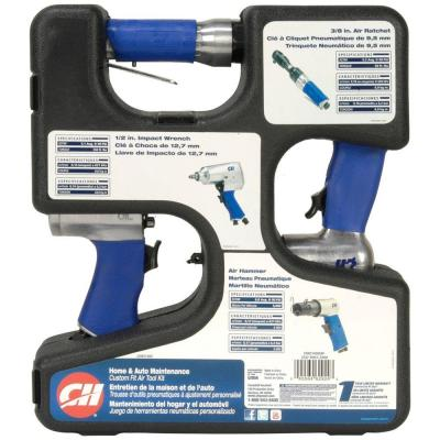 null 3-in-1 Air Tool Kit
