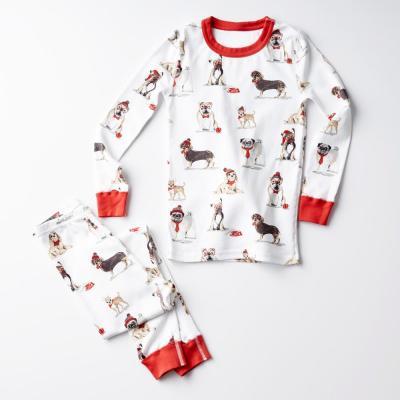 Family Snug-Fit Company Organic Cotton™ Kid's Pajama Set in Dog