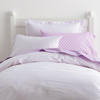 Swiss Dot 200-Thread Count Cotton Percale Duvet Cover