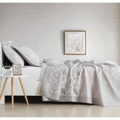 Brigette Floral 200-Thread Count Cotton Quilt