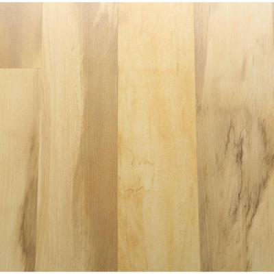 Hampton Bay Toasted Spalted Maple 8 mm Thick x 8-1/8 in. Wide x 47-5/8 in. Length Laminate Flooring (21.36 sq. ft. / case)