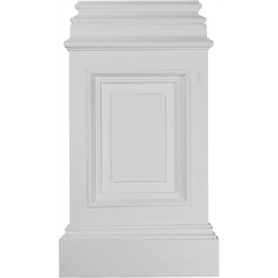 14-3/8 in. x 2-1/2 in. x 24-3/4 in. Polyurethane Classic Large Pedestal Base Product Photo