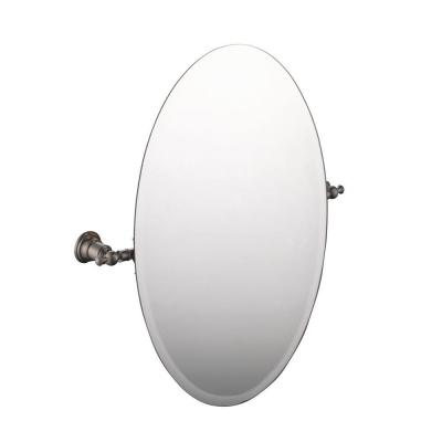 Estates 24 in. x 26 in. Frameless Wall Mirror