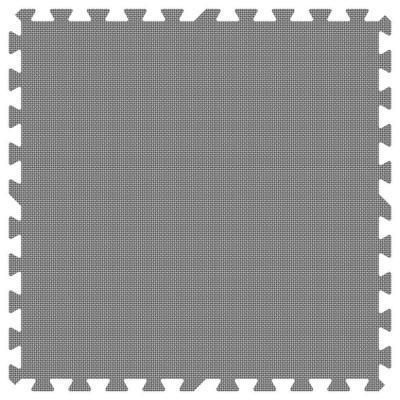 Groovy Mats Grey 24 in. x 24 in. Comfortable Mat (100 sq.ft. / Case)
