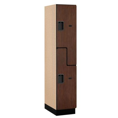 27000 Series 2-Tier 'S-Style' Wood Extra Wide Designer Locker in