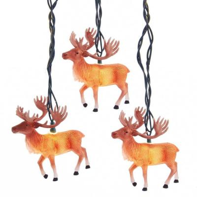UL 10-Light Reindeer with Antlers Light Set Product Photo
