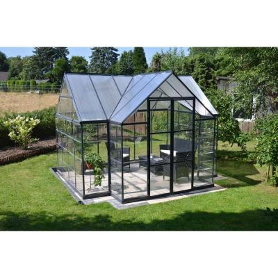 Palram Victory Orangery 10 ft. x 12 ft. Garden Chalet Greenhouse
