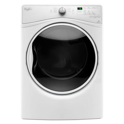 Whirlpool 7.4 cu. ft. Gas Dryer with Quick Dry Cycle in White