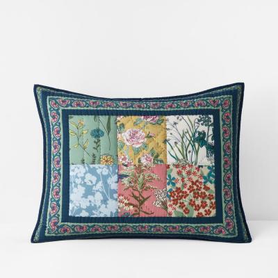 Ashford Handcrafted Multicolored Cotton Sham
