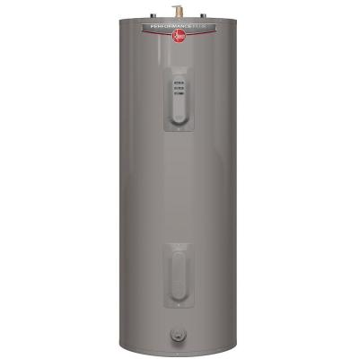 Performance Plus 40 gal. Tall 9 Year 4500/4500-Watt Elements Electric Water Heater with LED indicator Product Photo