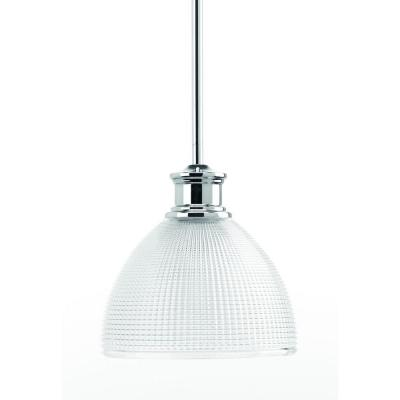 Lucky Collection 1-Light Polished Chrome Mini-Pendant