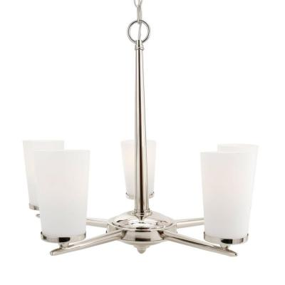 Kenroy Home Aerial 5 Light Chandelier-DISCONTINUED