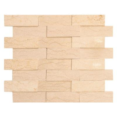 Terrain 11-3/4 in. x 10-3/8 in. x 8 mm Marble Mosaic Tile Product Photo