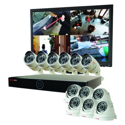 Genesis HD 16-Channel 4TB NVR Surveillance System with (12) 1080p 2MP Cameras Product Photo