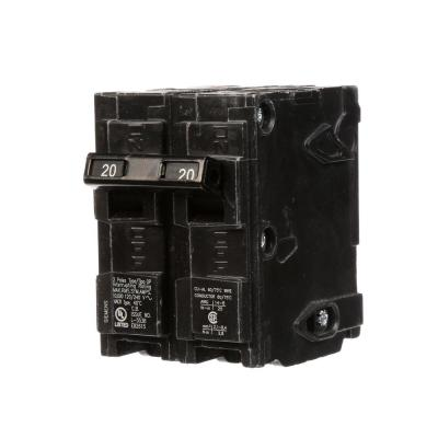 20 Amp Double-Pole Type QP Circuit Breaker Product Photo