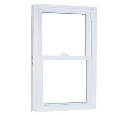31.75 in. x 69.25 in. 70 Series Double Hung Buck PRO Vinyl Window - White Product Photo