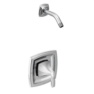 Voss 1-Handle Posi-Temp Shower Trim Kit Less Showerhead in Chrome (Valve Sold Separately) Product Photo