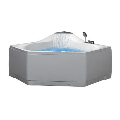 Ariel 5 ft. Whirlpool Tub in White