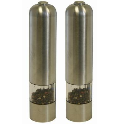 iTouchless Electronic Pepper Mills/Salt Grinders (2-Pack)