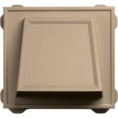 6 in. Hooded Siding Vent #069-Tan Product Photo