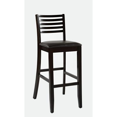 Home decorators collection triena ladder back bar stool Home depot wood bar stools