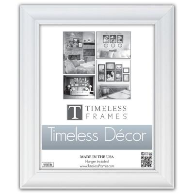 Boca 1-Opening 10 in. x 13 in. White Picture Frame