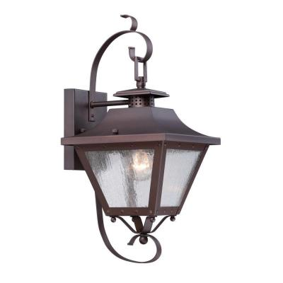 Acclaim Lighting Lafayette Collection Wall-Mount 1-Light Outdoor Architectural Bronze Light Fixture