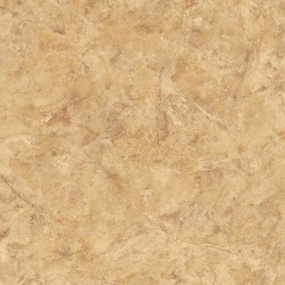The Wallpaper Company 8 in. x 10 in. Tan Marble Wallpaper Sample