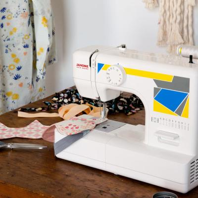 Janome MOD-11 Basic Sewing Machine with Top Drop-In Bobbin System