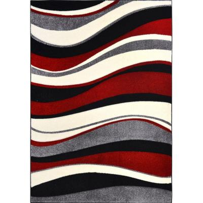 Home Dynamix Sumatra White 7 ft. 10 in. x 10 ft. 2 in. Area Rug