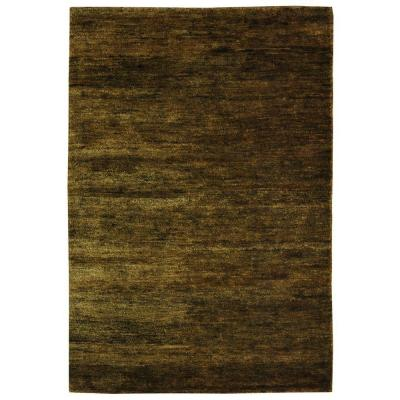 Bohemian Green 6 ft. x 9 ft. Area Rug Product Photo