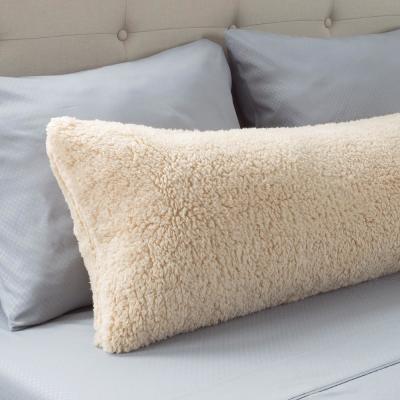 Soft Sherpa Body Pillow Pillowcase with Zipper