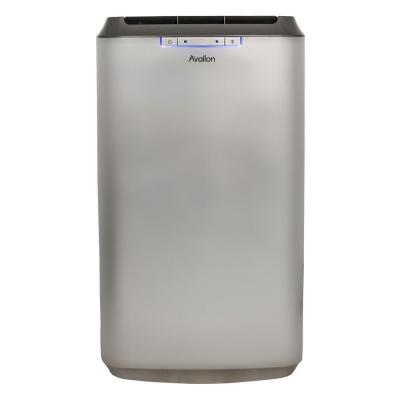 Avallon 12,000 BTU Dual Hose Portable Air Conditioner with InvisiMist Smart Drain Technology