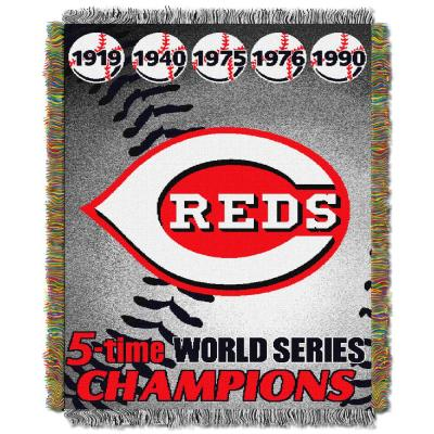 Multi Color Commemorative Series Tapestry Throw
