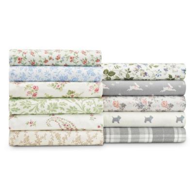 Bristol Paisley Floral 300-Thread Count Cotton Sheet Set