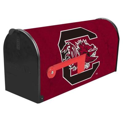 Red Post Mount University of South Carolina Mailbox Product Photo