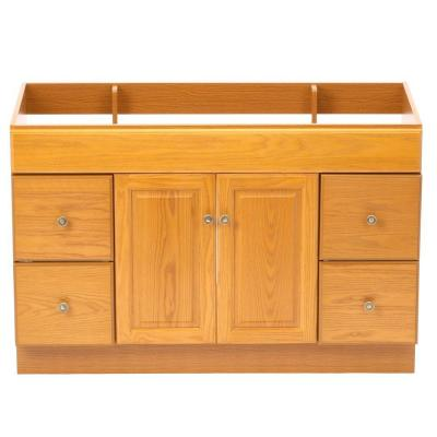 Design House Claremont 48 In W X 21 In D Unassembled Vanity Cabinet Only In Honey Oak 531491