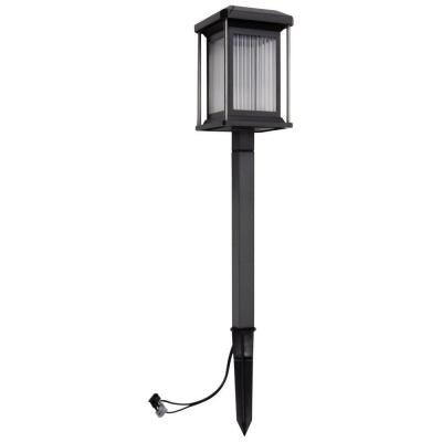 Malibu Low Voltage LED Gun Metal Gray Contemporary Pathway Light