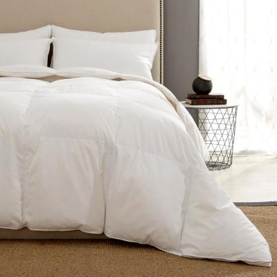 Heavy Weight White Goose Down Fiber Gusseted Comforter