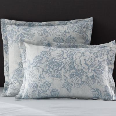 Marta Floral Reversible Cotton Linen Blend Sham