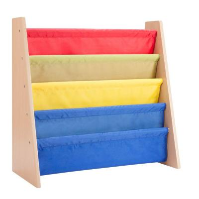 Itsy-Bitsy MDF Freestanding Book Rack in Primary Colors Product Photo
